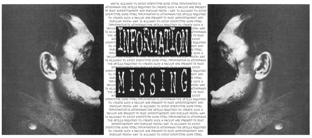 Information Missing by Pier Marton