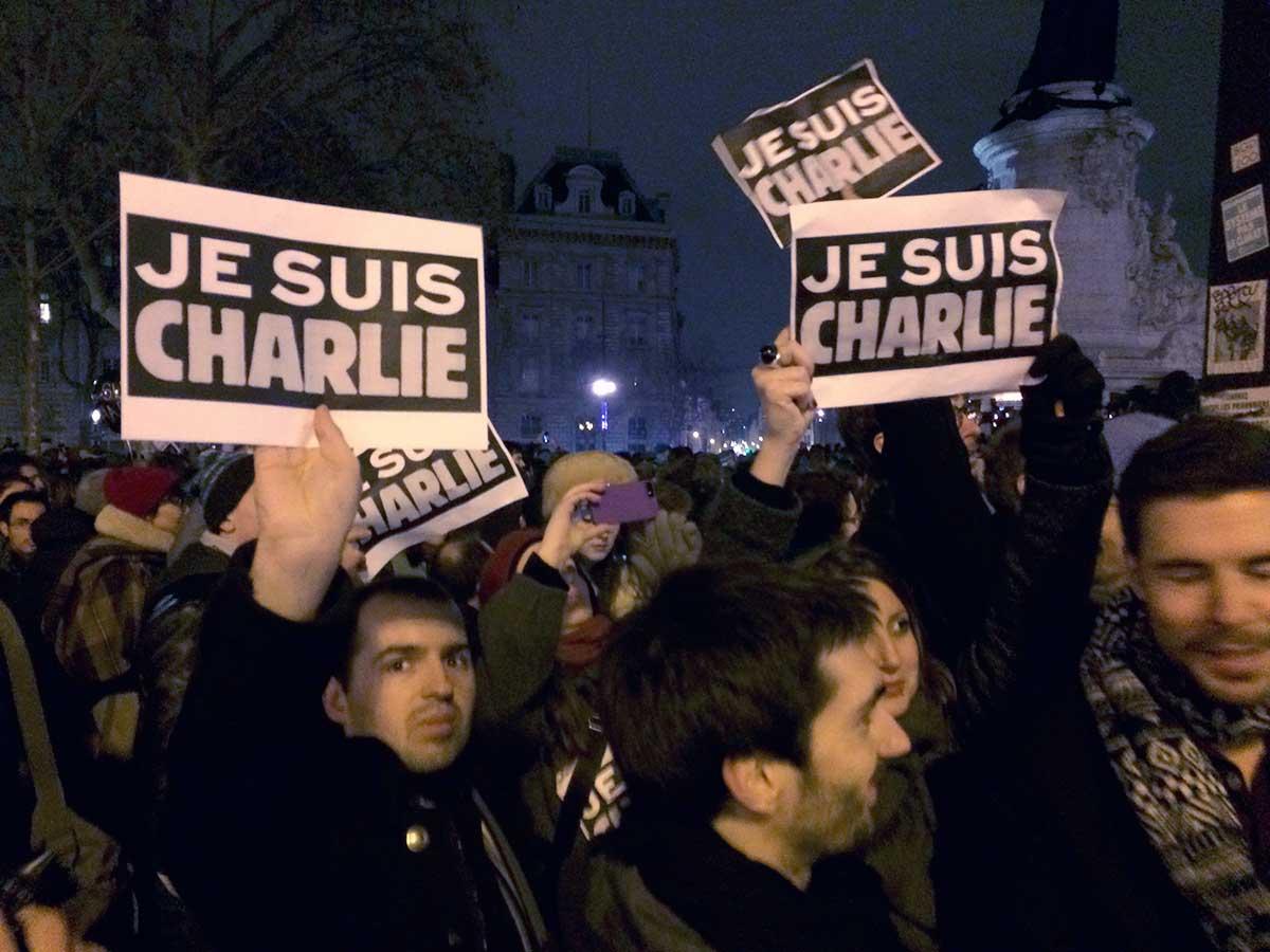 Place de la République, Paris Jan. 7, 2015
